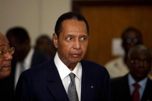 "Jean Claude ""Baby Doc"" Duvalier in court in February 2013"
