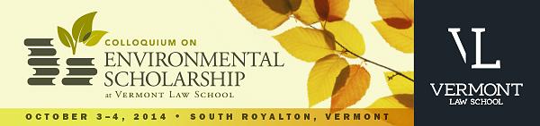2014 Environmental Colloquium