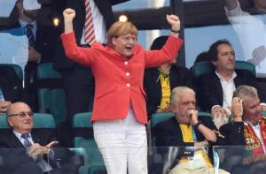 German Chancellor Angela Merkel (photo credit)