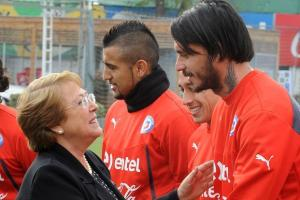 Chilean President Michelle Bachelet (photo credit)