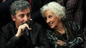 Carlotto with her grandson Ignacio (photo credit)