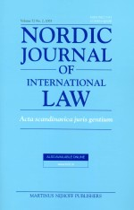 Read On!  A Nordic Approach to Promoting Women's Rights within International Law: Internal v. ExternalPerspectives