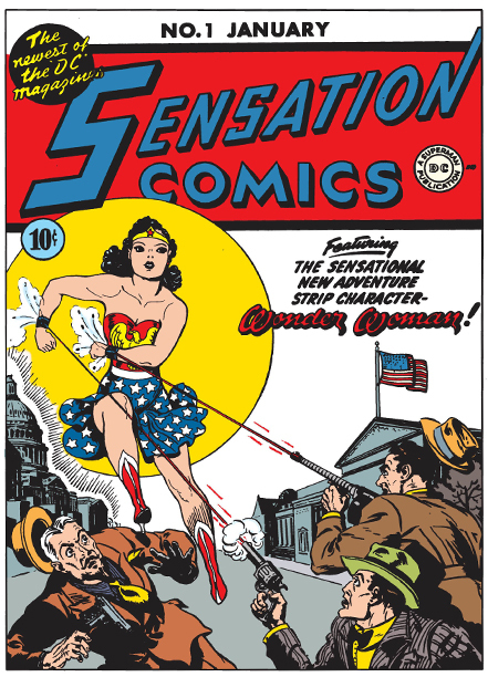 Wonder Woman Sensation Comics Issue no. 1
