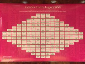 Gender Justice Wall