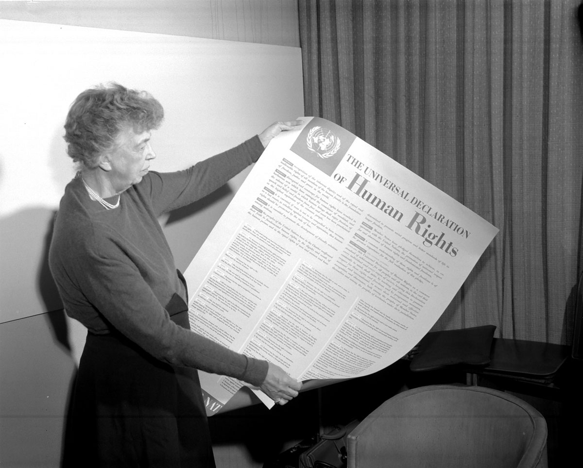 UN Photo Eleanor Roosevelt