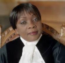 Image of Judge Julia Sebutinde, International Court of Justice