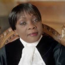 Image of Judge Julia Sebutinde, International Court of Justice
