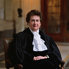 Image of Rosalyn Higgins, President, International Court of Justice