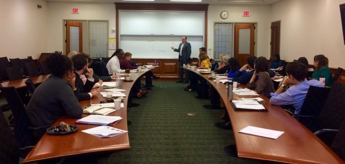 Experts' Meeting at Washington University School of Law