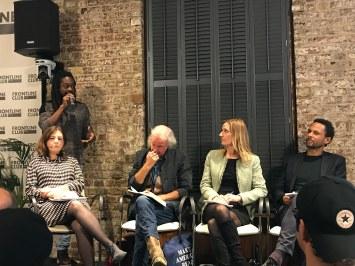 Seyi Rhodes Journalists Event