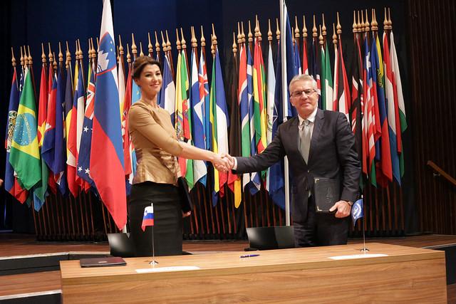 Slovenia Signing ICC